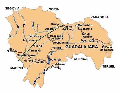 Pulsa para ver el mapa de las carreteras de la provincia