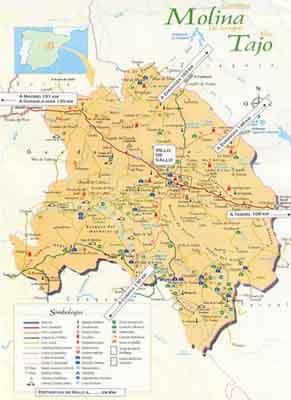 Pulsa para ver el mapa de la comarca ampliado