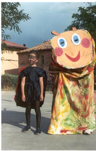 Disfraces de las fiestas de 2002.