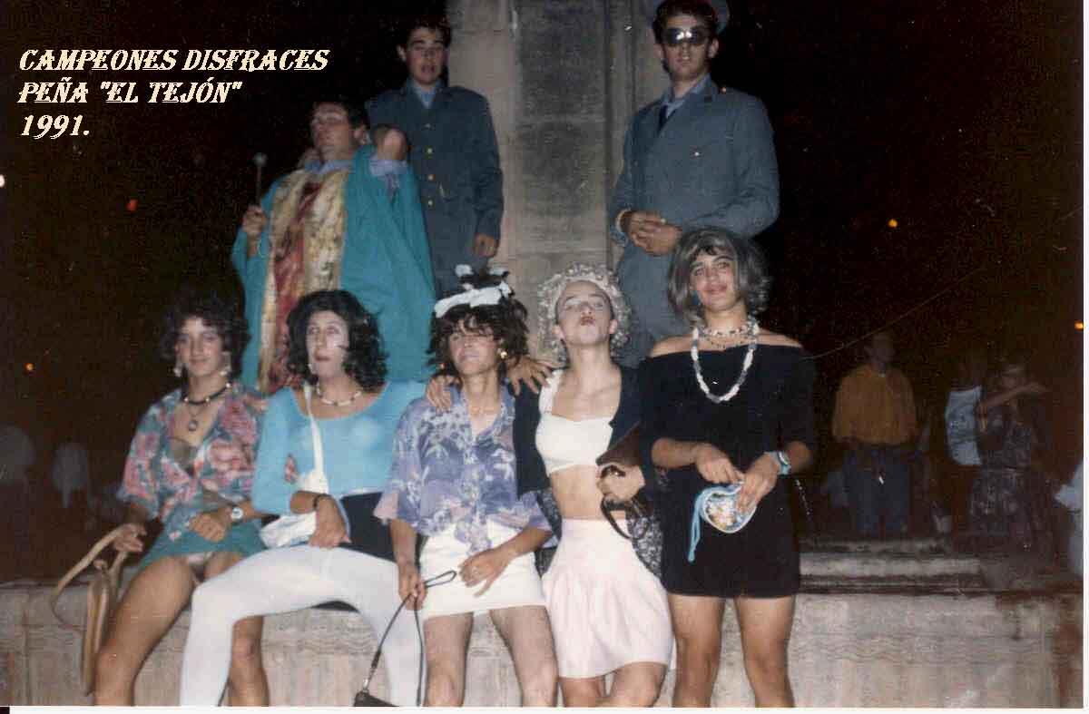 Campeones disfraces 1991