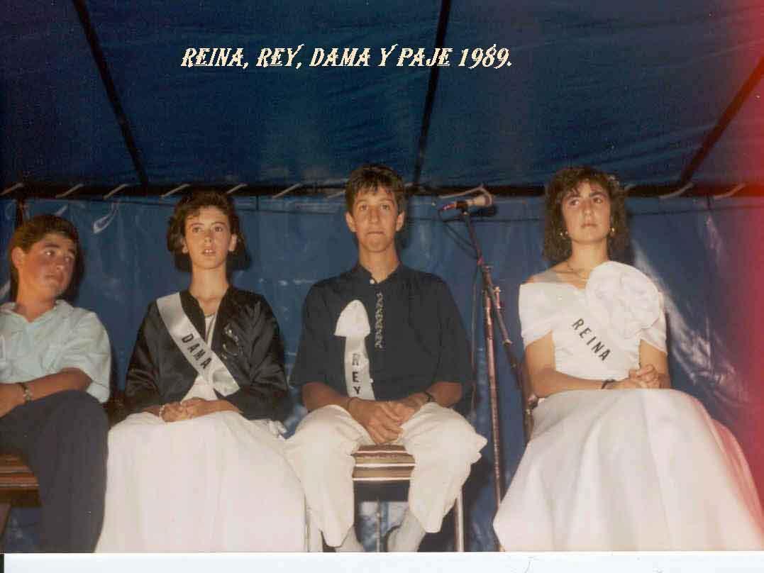 Reina y Rey 1989. Pulsa aquí para verla ampliada