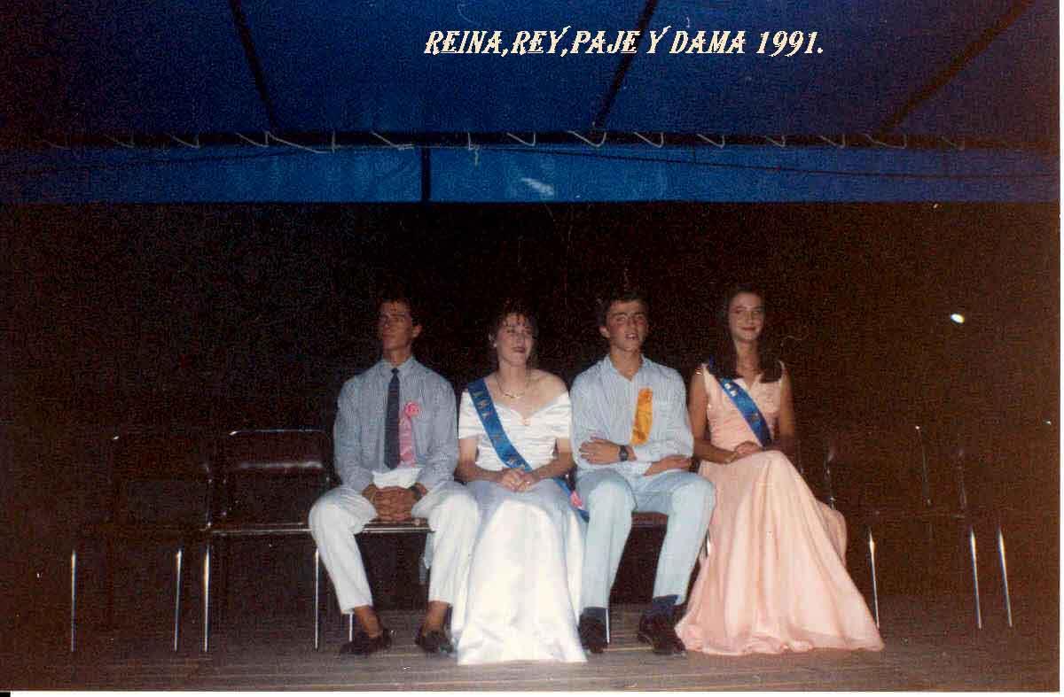 Reina y Rey 1991. Pulsa aquí para verla ampliada