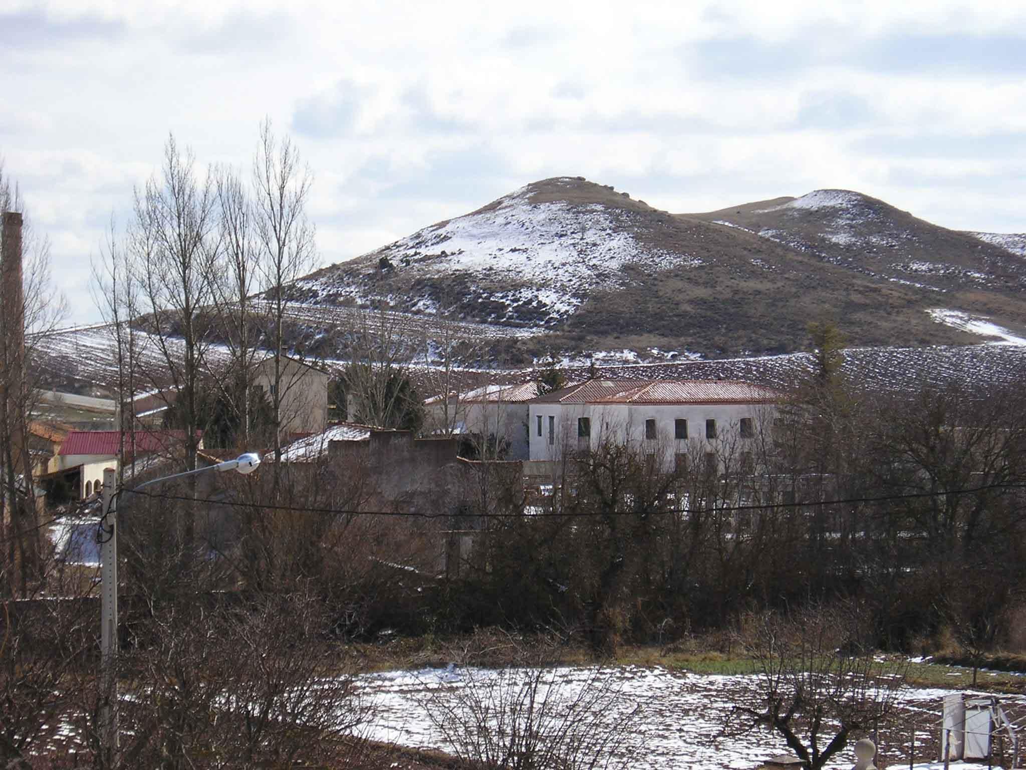 La nieve de febrero de 2005 en una foto de Leo