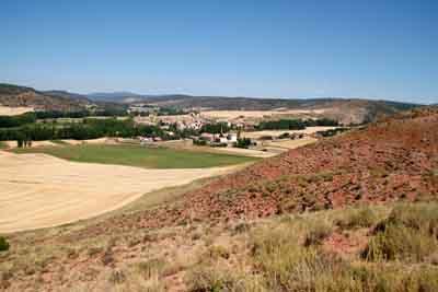 Rillo desde el cerro Colorado. Cándido Robledano