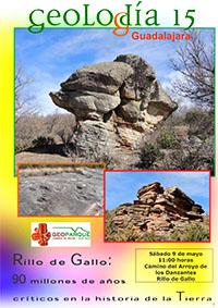 Guía de visita del Geolodía 2015 en Guadalajara