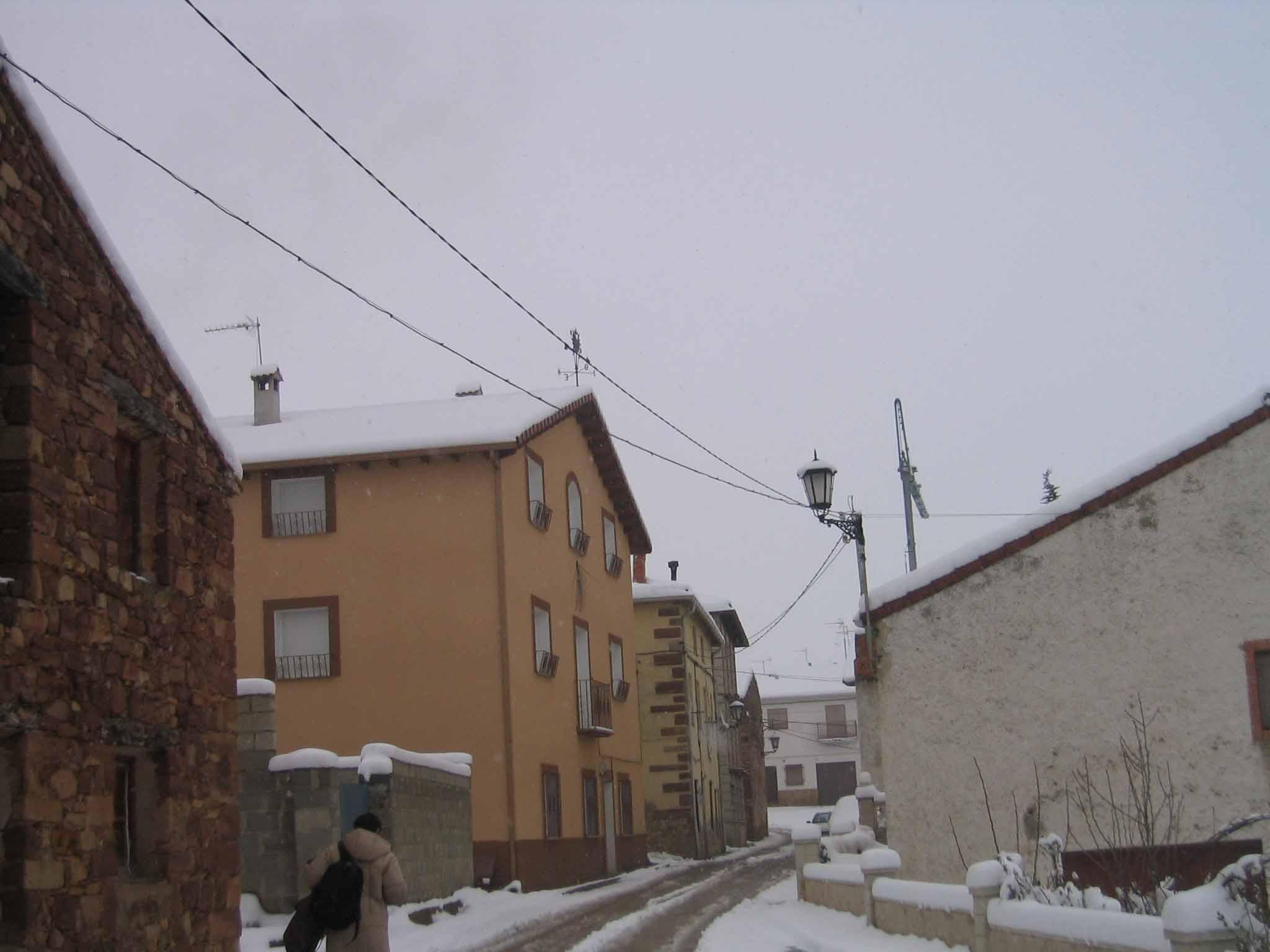 Vista de la nieve del 27 de marzo